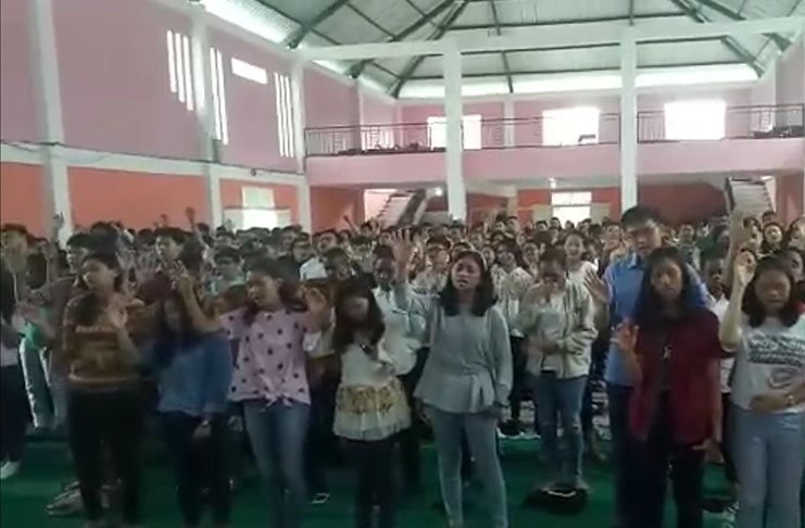 Passover Day Celebration Among Schools in Malang (April 2018)