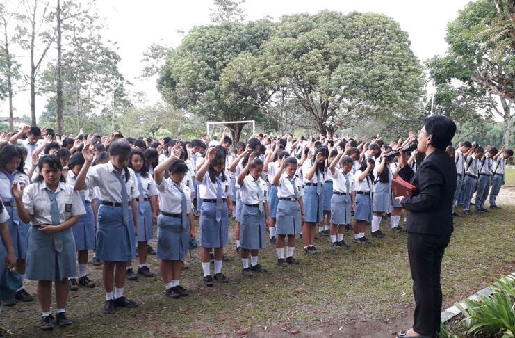 School Ministry PMPPKN in SMKN1 Raya Simalungun - Sumatera