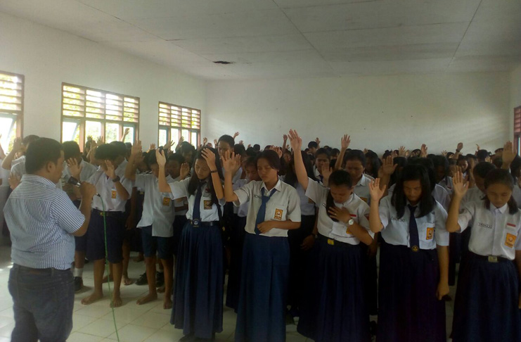 Seminar NFSA di SMPN 1 Malinau Utara